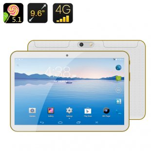 Android 4G Phablet - Android 5.1, 9.6 Inch IPS Screen, MTK6592 Octa Core CPU, OTG, Bluetooth 4.0, Dual SIM
