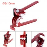 Wholesale 3 In 1 90° 6mm / 8mm / 10mm Pipe Tube Bender / Copper Tube / Air Conditioning Tube Manual Elbow Tool