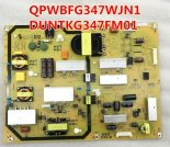 Original SHARP DUNTKG347FM01 QPWBFG347WJN1 Power Supply Board for LCD-60NX550A/60LX550A