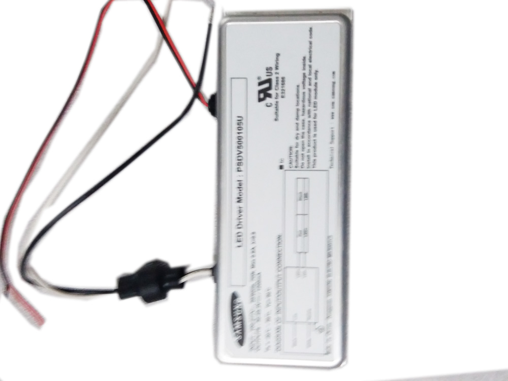 Samsung PSDV500105U 30~45.3V 1200mA outdoor Lighting 70W Class 2 wiring LED Driver / Power - NEW