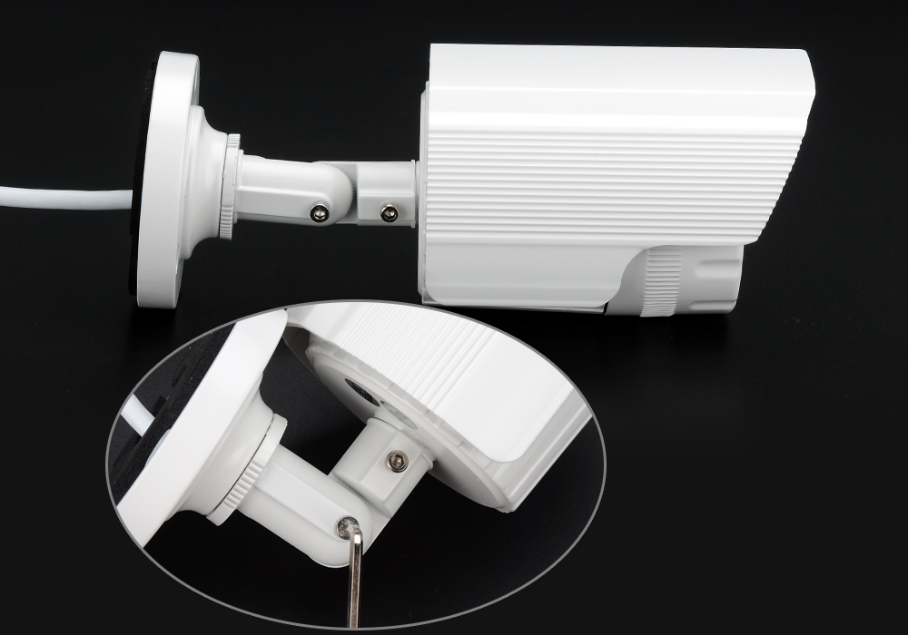Mini IP Security Camera - 4MP, 1/3 Inch CMOS Sensor, IR Cut, Night Vision, Motion Detection, Mobile Support, ONVIF 2.0